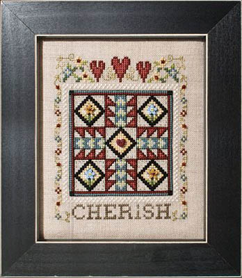 click here to view larger image of Quilted With Love 4 - Cherish (chart)