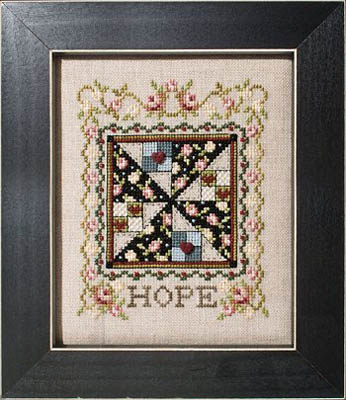 click here to view larger image of Quilted With Love 5 - Hope (chart)