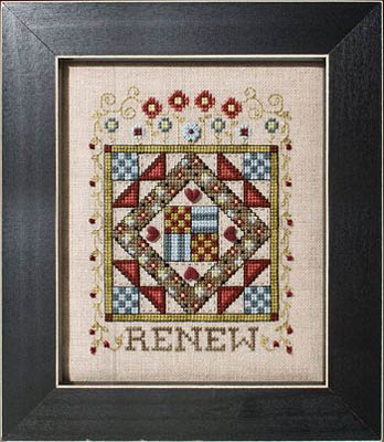 click here to view larger image of Quilted With Love 6 - Renew (chart)