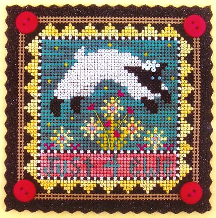 click here to view larger image of Just 4 Ewe - Limited Edition Kit (counted cross stitch kit)