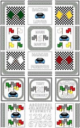 click here to view larger image of Needle Block Wonders 04 - Racing Lover (chart)