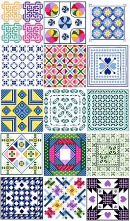 click here to view larger image of Needle Block Wonders 11 - Block Medley (chart)