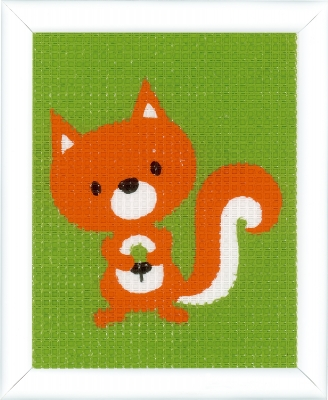 click here to view larger image of Little Squirrel (needlepoint)