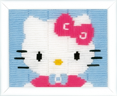 click here to view larger image of Hello Kitty (counted cross stitch kit)