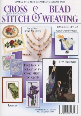 click here to view larger image of Cross Stitch & Bead Weaving Issue #96 (magazines)