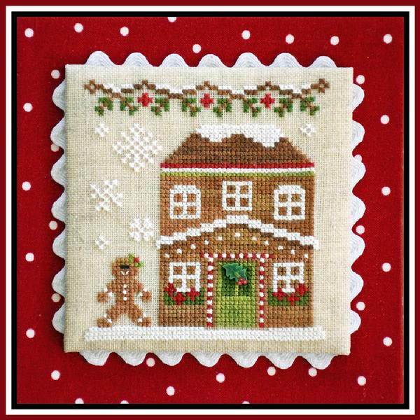 Gingerbread House 5 - Gingerbread Village 8 - click here for more details about chart