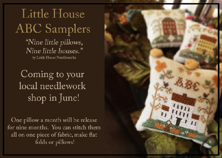 Little House ABC Samplers - Auto Signup - click here for more details about chart
