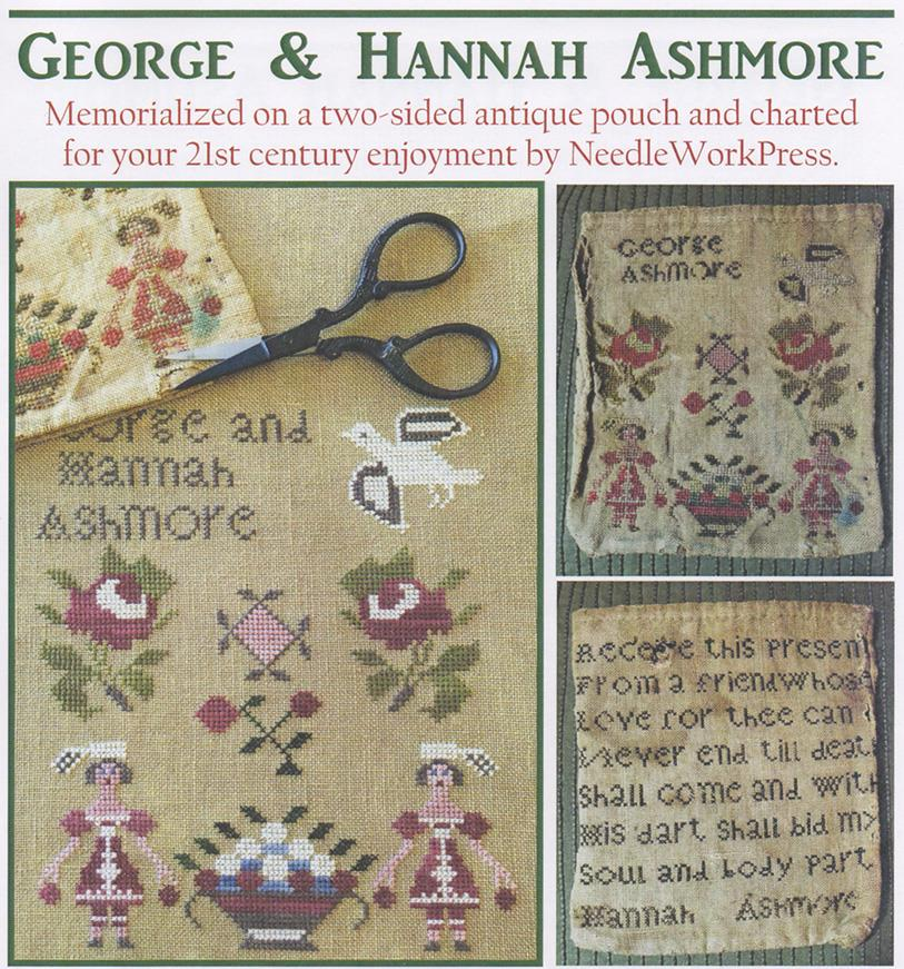 click here to view larger image of George and Hannah Ashmore (chart)