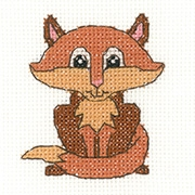 click here to view larger image of Fox - Juniors (counted cross stitch kit)