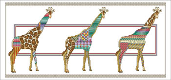click here to view larger image of Giraffe Parade (chart)