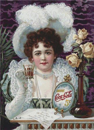 click here to view larger image of Coca Cola Vintage Poster (chart)