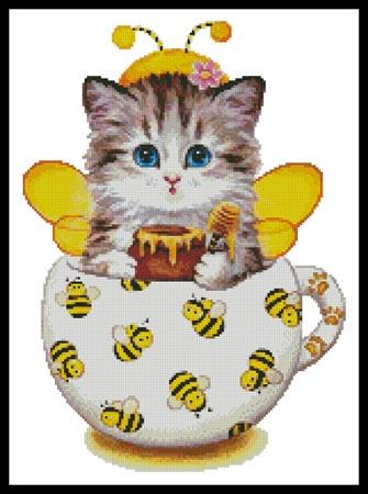 click here to view larger image of Bee Kitty Cup (chart)