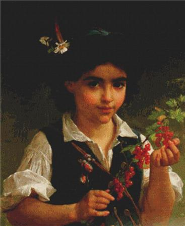 click here to view larger image of Boy With Berries (chart)