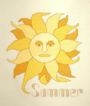 click here to view larger image of Seasonal Icons - Summers Sol (chart)