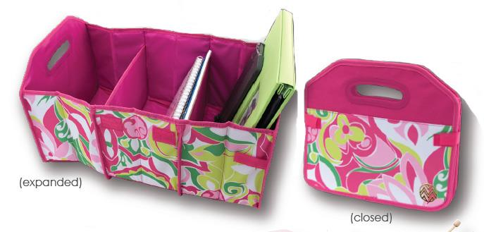 click here to view larger image of Foldaway Trunk Organizer - Macbeth Collection (accessory)