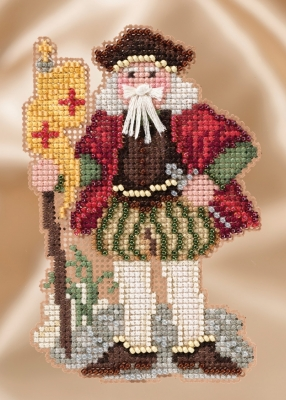 click here to view larger image of Renaissance Genoa Santa (counted cross stitch kit)