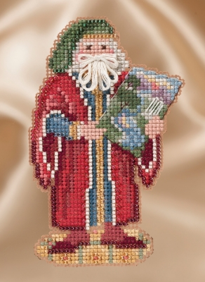 click here to view larger image of Renaissance Florence Santa (counted cross stitch kit)