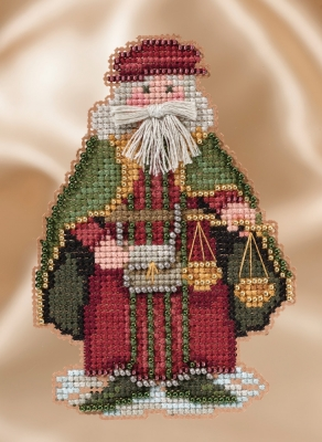 click here to view larger image of Renaissance Venice Santa (counted cross stitch kit)