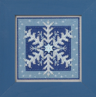 click here to view larger image of Crystal Snowflake (counted cross stitch kit)