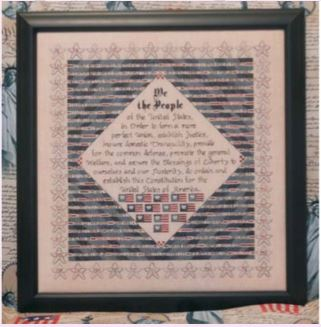 click here to view larger image of Patriotic Quilt (chart)