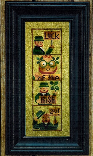 click here to view larger image of Irish Luck Photobooth (chart)