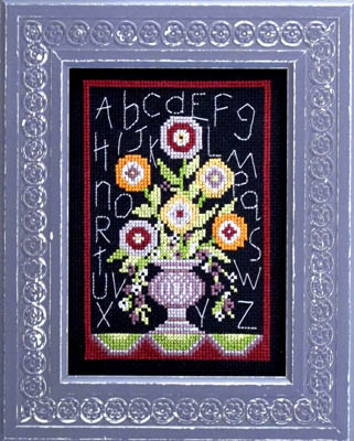 click here to view larger image of Floral Sampler (chart)