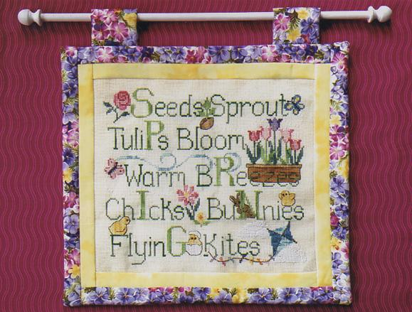 click here to view larger image of Spring Things (chart)