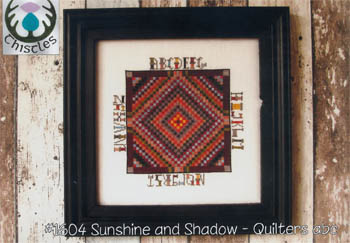 click here to view larger image of Sunshine and Shadow - Quilters ABC (chart)