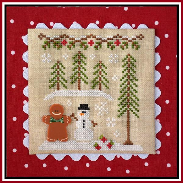 click here to view larger image of Gingerbread Boy and Snowman - Gingerbread Village 7 (chart)