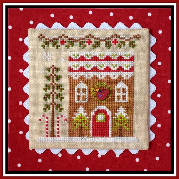 click here to view larger image of Gingerbread House 4 - Gingerbread Village 6 (chart)