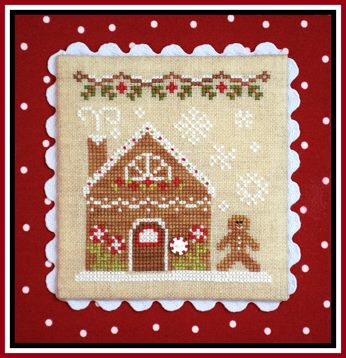 click here to view larger image of Gingerbread House 2 - Gingerbread Village 4 (chart)