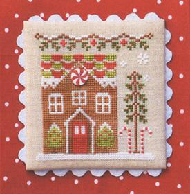 click here to view larger image of Gingerbread House 1 - Gingerbread Village 3 (chart)