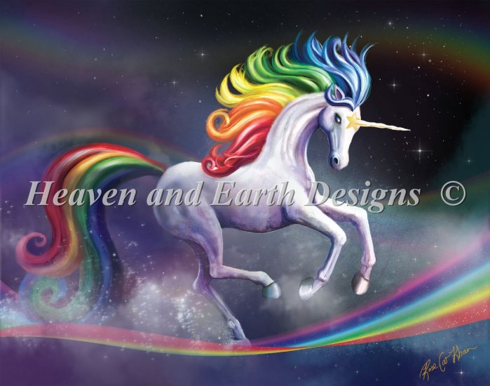 click here to view larger image of Rainbow Dancer Unicorn RS Max Colors (chart)