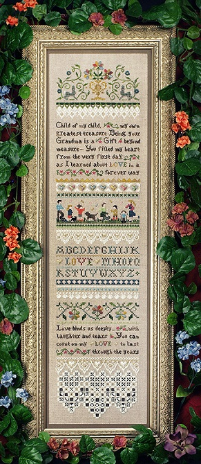click here to view larger image of Child of My Child Sampler (chart)
