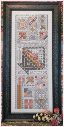 click here to view larger image of Friendship Quilt (chart)