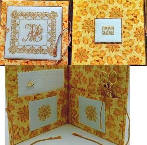 click here to view larger image of Splendor XXVII Needlebook (counted cross stitch kit)