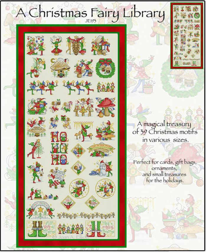 click here to view larger image of Christmas Fairy Library, A (chart)