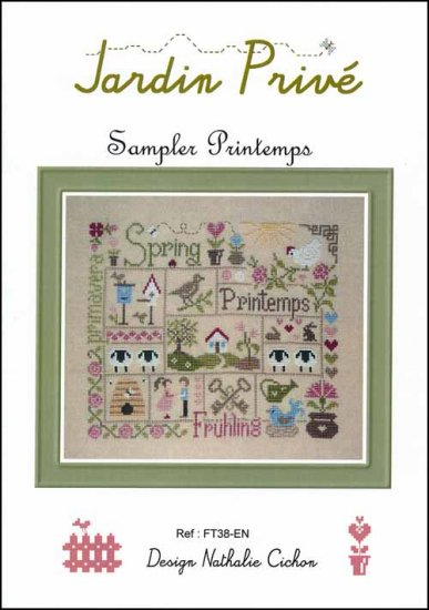 click here to view larger image of Sampler Printemps (chart)