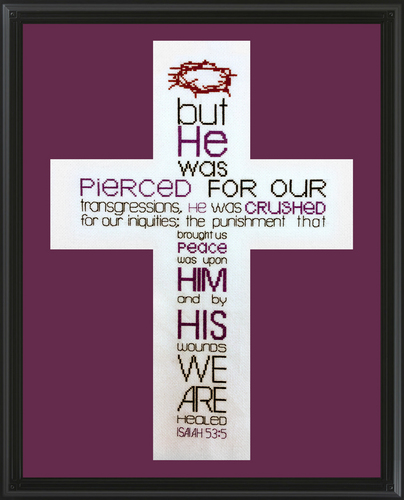 click here to view larger image of Isaiah 535 (chart)