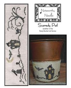click here to view larger image of Scaredy Pail - Rusty Bucket Series (chart)