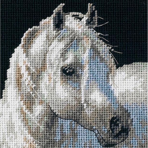 click here to view larger image of Gentle Strength (needlepoint)