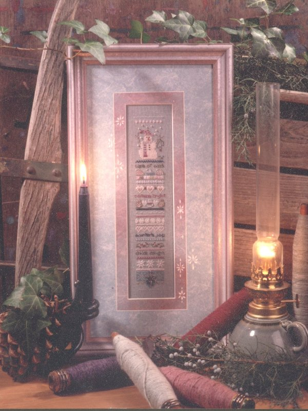 click here to view larger image of Woolly Winter Sampler (counted cross stitch kit)