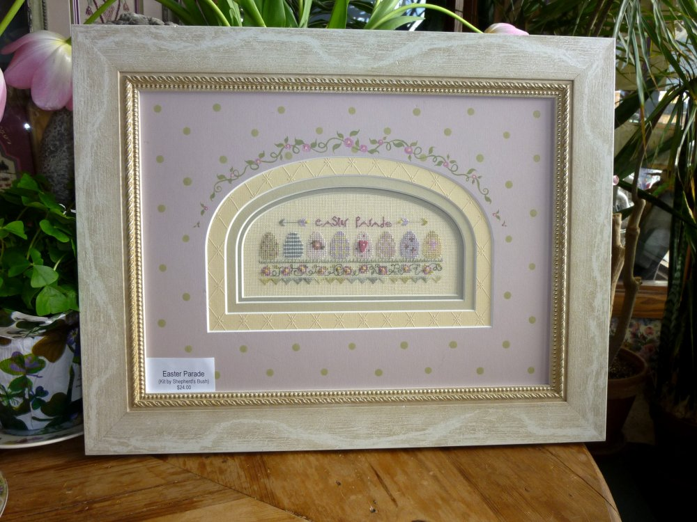 click here to view larger image of Easter Parade (counted cross stitch kit)