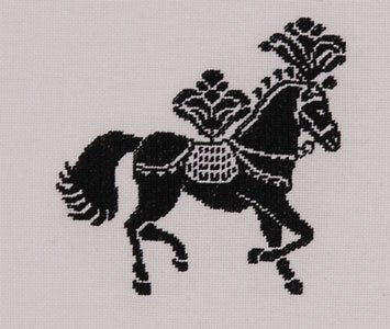click here to view larger image of Horse (counted cross stitch kit)