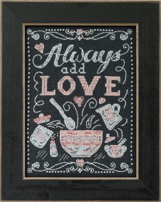 click here to view larger image of Add Love (counted cross stitch kit)