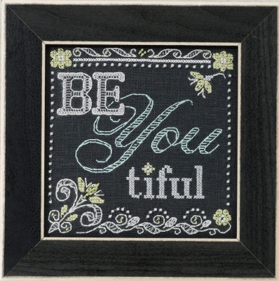click here to view larger image of Be You (counted cross stitch kit)