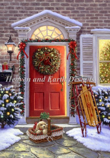 click here to view larger image of Christmas Doorway (chart)