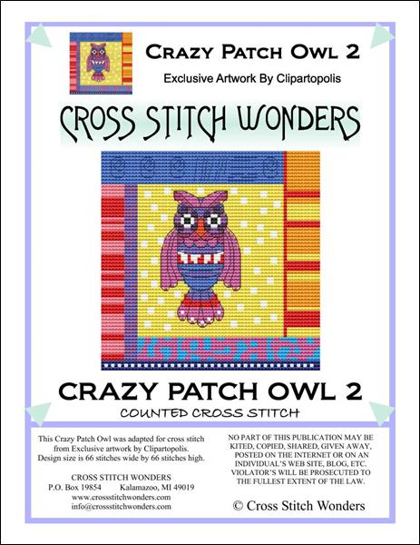 click here to view larger image of Crazy Patch Owl 02 (chart)
