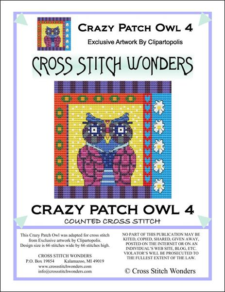 click here to view larger image of Crazy Patch Owl 04 (chart)