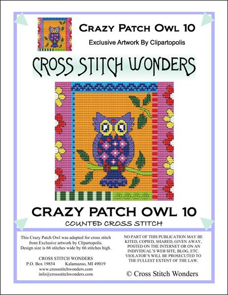 click here to view larger image of Crazy Patch Owl 10 (chart)
